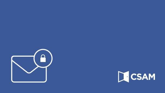 Activatie van de beveiligingscode via e-mail